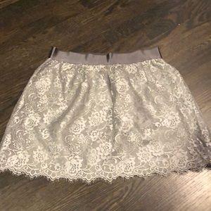 JCREW NWT holiday mini skirt